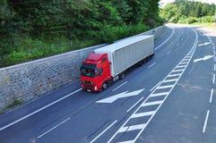 Expedição do caminhão imagens de stock