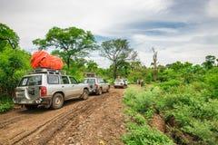 Expedição na floresta úmida de Etiópia do sul Foto de Stock
