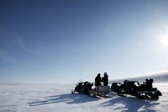 Expedição polar Foto de Stock