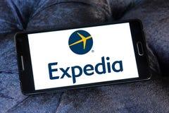 Expedia logo Zdjęcie Royalty Free