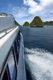 Expedición del barco Fotografía de archivo
