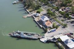 Expedición del puerto Imagen de archivo