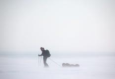 Expedición ártica Fotografía de archivo