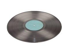 Expediente de gramófono en blanco Fotos de archivo