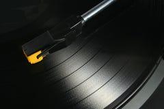 Expediente del acetato del LP Foto de archivo