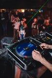 Expediente en club Foto de archivo libre de regalías