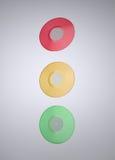 Expedientes de vinilo coloridos ilustración del vector