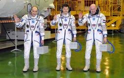 Expedition 31 Crewmembers Stockfotos