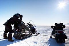 Expedition-Anleitung Stockbilder