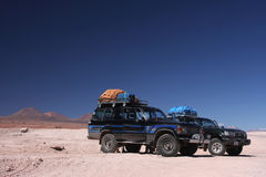 Expedition in Atacama Royalty Free Stock Photography