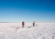 Expedition auf Inseln Lizenzfreies Stockfoto