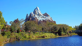 Expedition Everest at Animal Kingdom royalty free stock photo