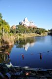 Expedition Everest in Disney Animal Kingdom Royalty Free Stock Photo