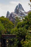 Expedition Everest Roller Coaster Stock Photo
