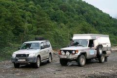 expedition germany russia Royaltyfria Bilder