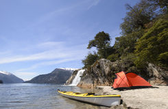 Expedition i Patagonia Royaltyfri Fotografi