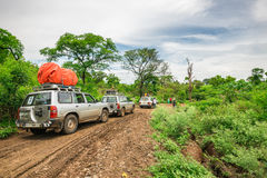 Expedition in the rainforest of southern Ethiopia Stock Photo