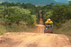 Expedition in 4x4. In south america Royalty Free Stock Image