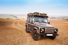 Expedition Vehicle Royalty Free Stock Images