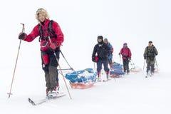 EXpeditionAmundsen4 Imagens de Stock Royalty Free