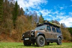 Expeditionsfahrzeug Stockfoto