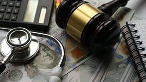 Expence da saúde e conceito de justiça vídeos de arquivo
