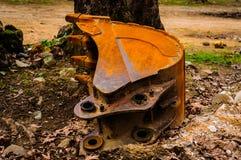 Expended Excavator Bucket Stock Image