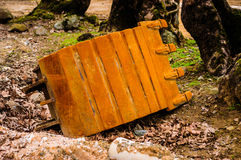 Expended Excavator Bucket Stock Images