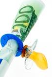Expenditure on children stock image