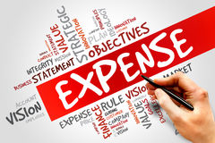 Expense Stock Photo