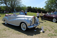 Expensive antique car Royalty Free Stock Photography