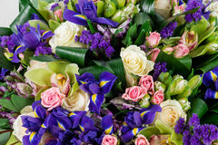 Expensive bouquet macro Royalty Free Stock Images