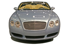 Expensive car isolated. Royalty Free Stock Image