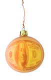 Expensive Christmas bauble Royalty Free Stock Photography