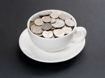 Expensive coffee Royalty Free Stock Photo