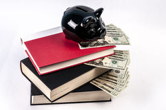 Expensive cost of education Royalty Free Stock Photography
