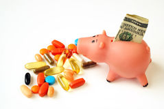 Expensive drugs royalty free stock images