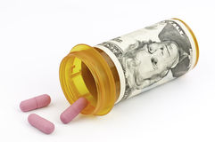 Expensive drugs Stock Photography