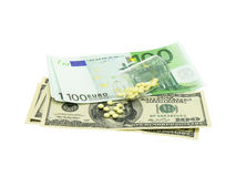 Expensive drugs royalty free stock photo