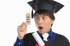 Expensive education Stock Images