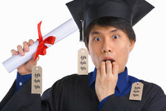 Expensive education Royalty Free Stock Photos