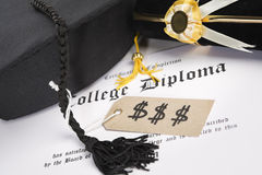 Expensive education Stock Image
