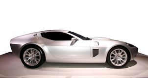 Expensive, fancy sports car. Photograph of a very expensive, fancy sports car stock photos