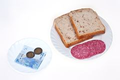 Expensive food Royalty Free Stock Image