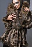 Expensive fur. Royalty Free Stock Photos