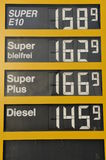 Expensive Gas Royalty Free Stock Images