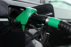 Expensive gas, fuel tanking. Image of filling fuel tank stock image