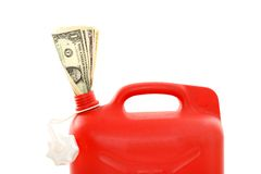 Expensive gasoline Royalty Free Stock Images