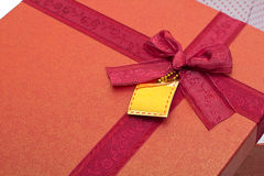 Expensive gift Stock Images