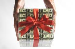 Expensive gift stock photos